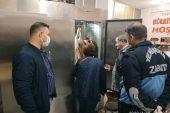 Yenişehir de 200 kilo kaçak et ele geçirildi