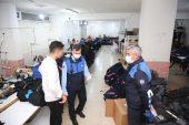 Kaçak Tekstil Atölyesi Mühürlendi