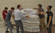 Yenişehir Belediyesi gıda yardımı seferberliğini sürdürüyor