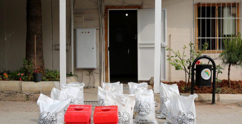 Toroslar Belediyesi 300 kilo atık pil topladı