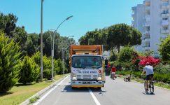 Erdemli'ye 8 kilometrelik bisiklet yolu yapılıyor
