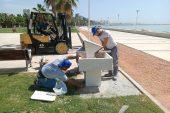Büyükşehir'den Parklara Fazla Su Tüketimini Engelleyen Çeşme