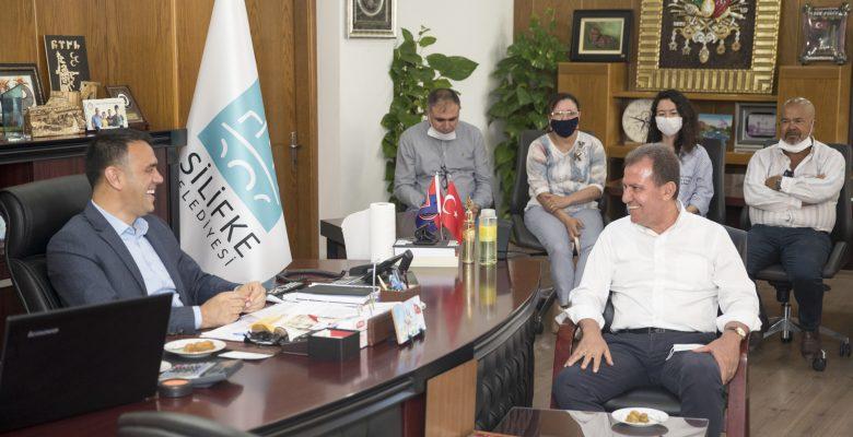 Seçer, Silifke'ye yeni bir arıtma tesisi kurulacağını da duyurdu