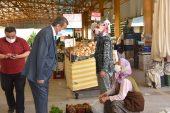 Anamur Belediye Başkanı Kılınç Pazarcı Esnafını Ziyaret Etti