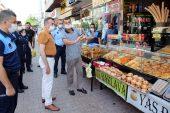 Akdeniz Zabıta Ekipleri; İş yerlerini Denetledi, Maske Dağıttı