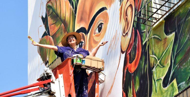 'Güneykent Toplu Konut Binalarının Dış Cepheleri Renkleniyor'
