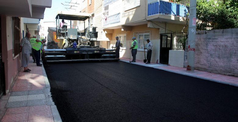 Siteler Mahallesinin sokakları yenilendi