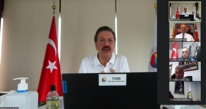 OSB Başkanları Hisarcıklıoğlu ile bir araya geldi
