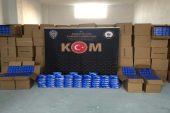 Mersin'de 10 milyon adet gümrük kaçağı makaron ele geçirildi