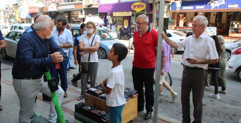 Başkan Gültak; Büyükşehir Belediyesinin scooterlara el koymaya çalışmasına tepki gösterdi