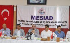 """""""PROJELERİ MERSİN ADINA SAHİPLENMELİYİZ"""""""