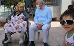Gültak, Karacailyas Ve Müfide İlhan Mahallelerini Ziyaret Etti