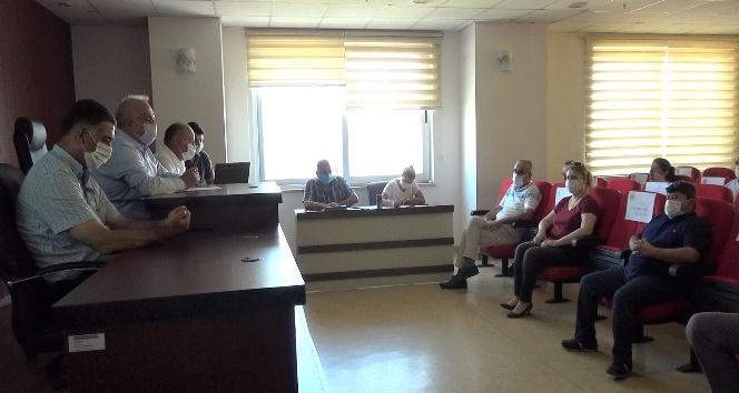 Erdemli Belediyesi Meclis Toplantısı yapıldı