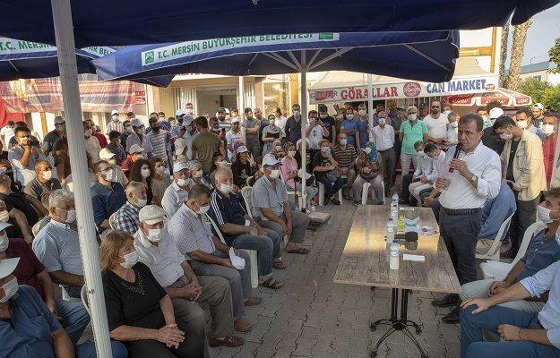 """Başkan Seçer, """"Tarsus Belediyesi ile el ele vereceğiz"""""""