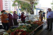 Erdemli Belediyesinin kurduğu üretici pazarları ilgi görüyor