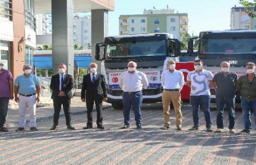 Erdemli Belediyesi, araç filosunu güçlendirdi