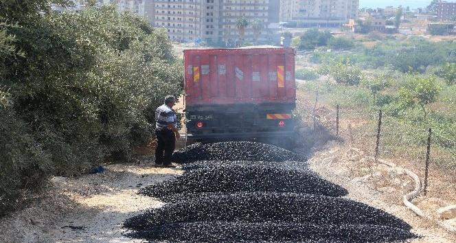 Erdemli Belediyesi, asfalt ihtiyacını kendi tesislerinde üretiyor