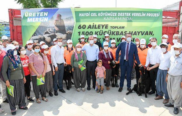 """""""Haydi Gel Köyümüze Destek Verelim Projesi"""" Tarsus'ta başladı"""