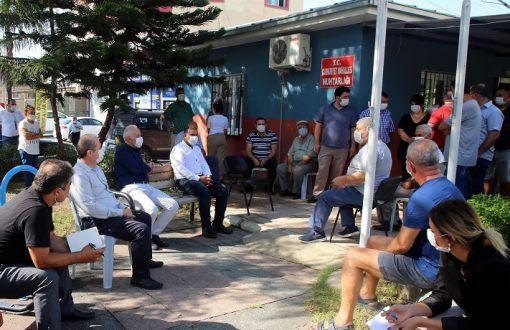 Akdeniz Belediye Başkanı Gültak, Kazanlı'yı Ziyaret Etti