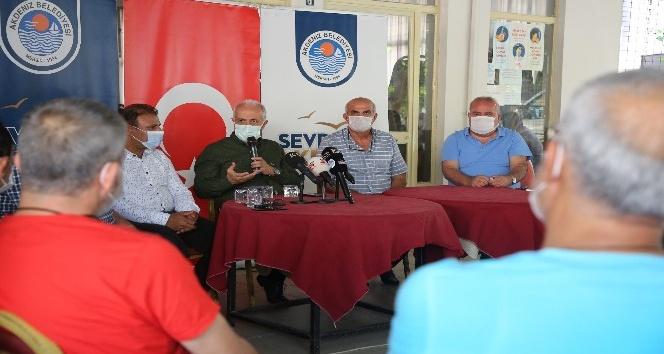 """Gültak: """"Akdeniz için çalışıyoruz"""""""