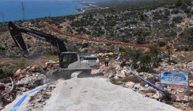 Yaz aylarında sorun yaşayan Boğsak Mahallesinin içme suyu kapasite artırımı yapıldı