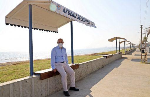 Gültak, Karaduvar'daki sahil düzenleme çalışmalarını inceledi
