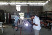 Akdeniz Belediyesi Makine İkmal Sahası Üretiyor