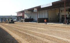 Tırmıl sanayi sitesinde asfalt çalışması