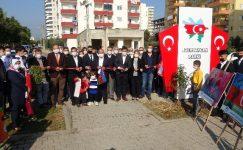 Mersin'de Azerbaycan Parkı açıldı