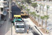 Karacailyas'ta alt yapı ve üst yapı çalışmaları sürüyor