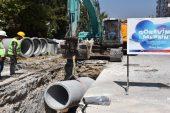 Mezitli'de yağmur suyu çalışmaları…