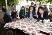 Başkan Özyiğit, kırsal mahalleleri gezdi