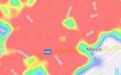 Mersin, Yüksek Riskli Şehir Konumunda… Harita Kıpkırmızı!!!