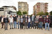 Anamur Belediyesi Çiftçilere 50 Bin Metre Sulama Borusu Temin Etti