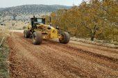 Mut'ta bağlantı yolları asfaltlanıyor