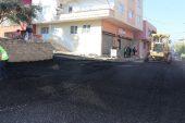 Toroslar'da asfalt çalışmaları…