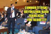 MERSİN BARO'SUNA SİYASALLAŞMA TEPKİSİ!