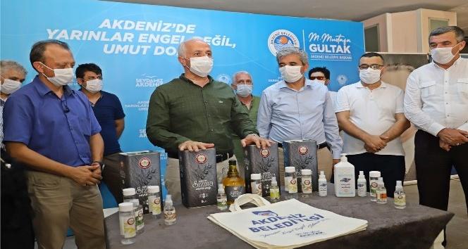 """""""Mersin'de kooperatif adına kurulan ilk kolonya satış merkezi"""""""