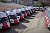 Yeni ambulanslar geldi