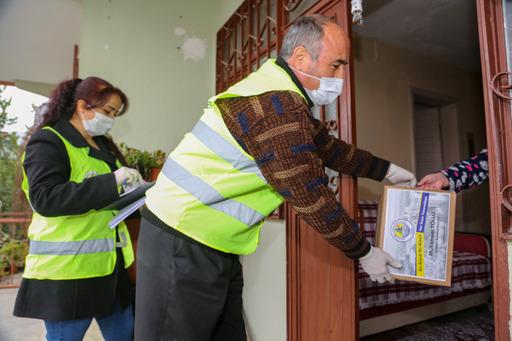 Erdemli'de Pandemi Sürecinde 3 Bin Aileye Yardım yapıldı