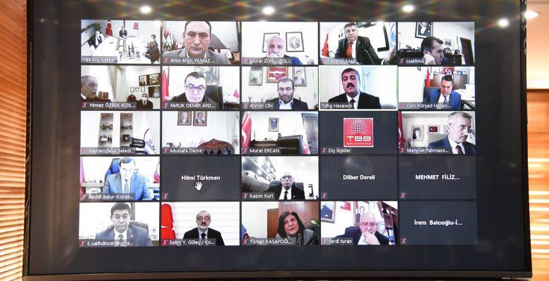 Türkiye-Azerbaycan Kardeş Şehir İlişkileri toplantısı yapıldı