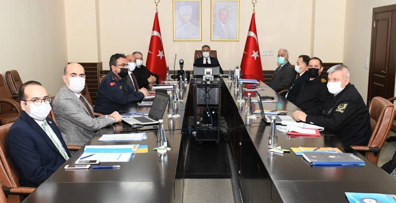 İl Güvenlik ve Asayiş  Toplantısı yapıldı