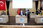 Akdeniz Belediyesi Meclis toplantısı yapıldı