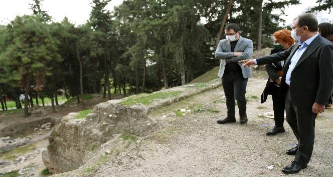 Yumuktepe Arkeolojik Sit Alanı ve yakın çevresi için arkeopark projesi hazırlanıyor