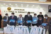 Anamur Ticaret ve sanayi Odasından öğrencilere 55 tablet bilgisayar