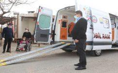 """""""Mobil RAM Projesi"""" ile rehabilitasyon hizmeti engelli çocukların ayağına getiriliyor"""