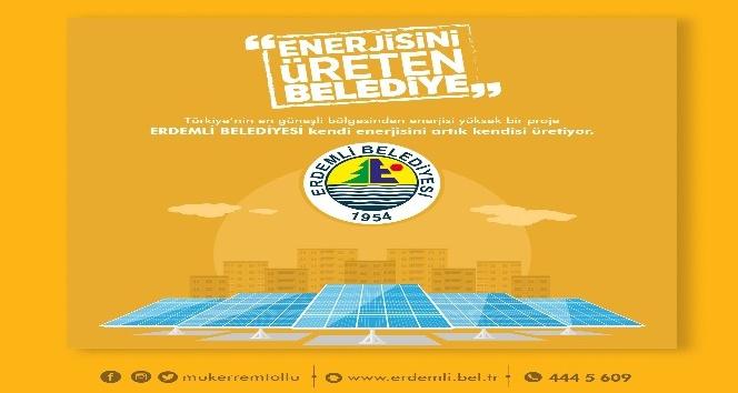 Enerjisini üreten belediye, Erdemli Belediyesi