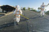 Bir Binanın Yapımında Asbeste Rastlanması Üzerine Harekete Geçildi