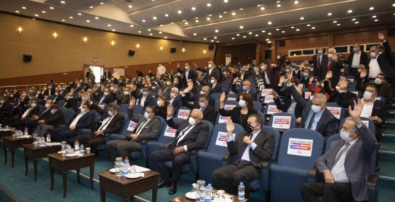 Mersin Büyükşehir Belediye Meclisinin Birinci Birleşimi yapıldı