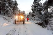 Yüksek kesimlerde karla mücadele